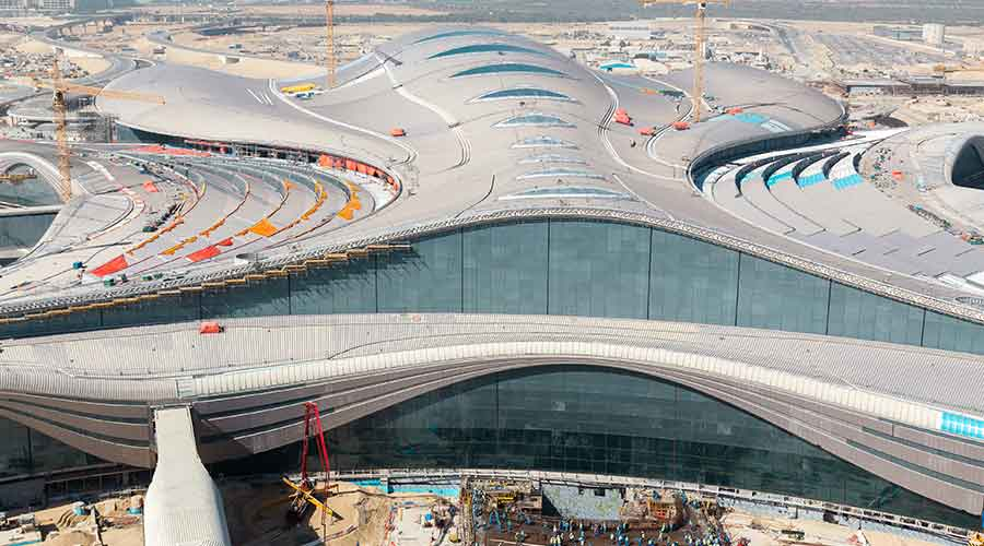 Abu Dhabi International Airport-Midfield Terminal Building