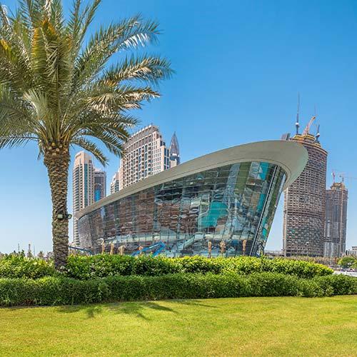 Dubai Opera House, Main Building Works - Overview