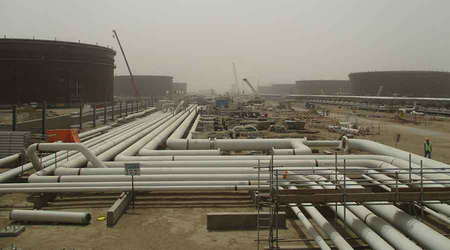 Jazan Refinery, Package 4 & 5, Tank Farms - Consolidated Contractors