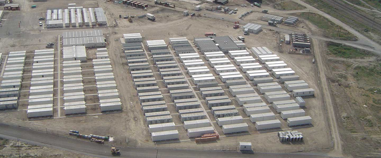 Camp Accommodation Facilities in Kazakhstan